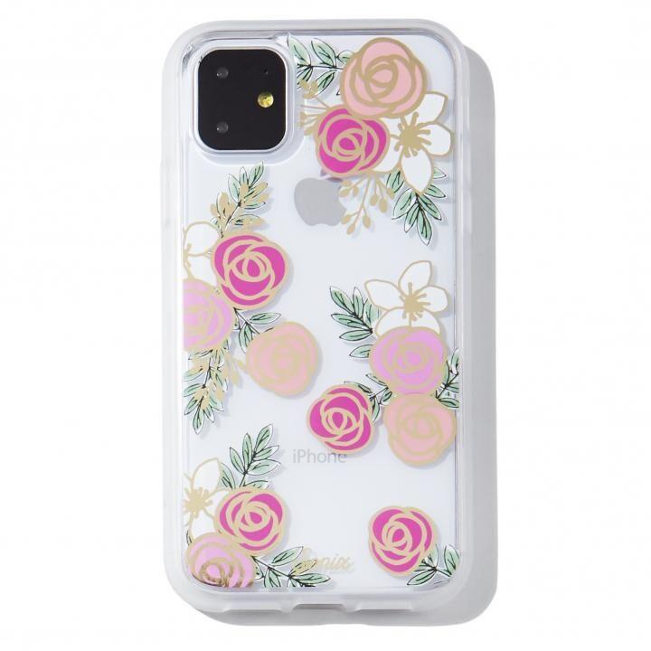 iPhone 11 ケース Sonix(ソニックス) クリアデザインケース Gatsby Rose iPhone 11【12月中旬】_0