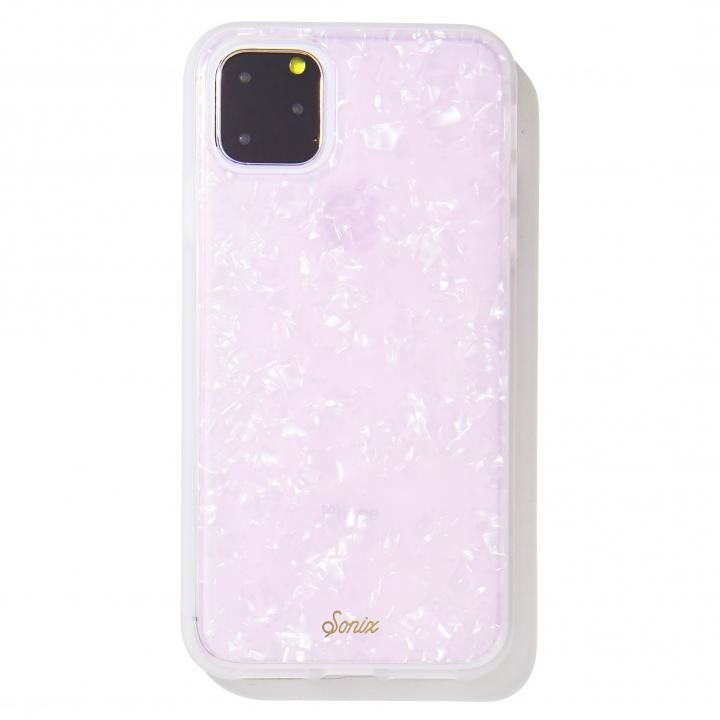 iPhone 11 Pro Max ケース Sonix(ソニックス) クリアデザインケース Pink Pearl Tort iPhone 11 Pro Max【11月上旬】_0