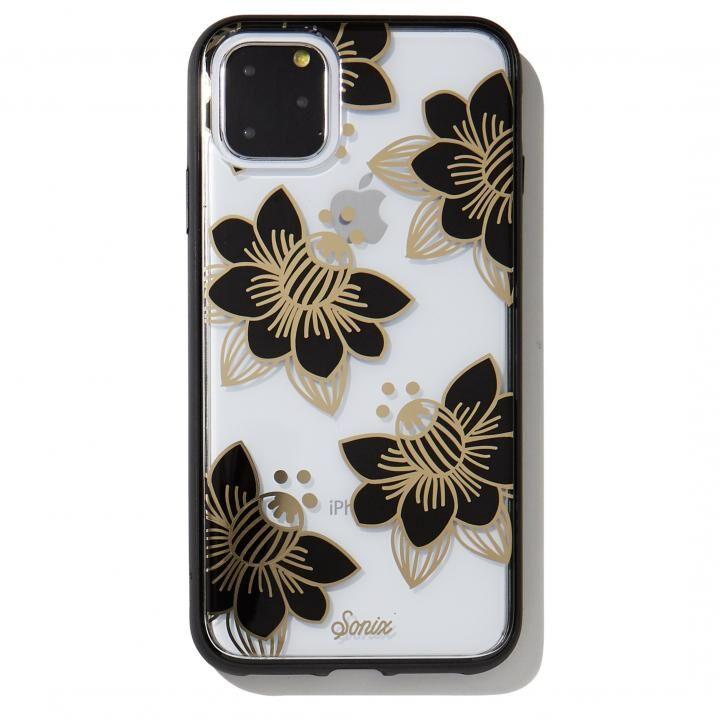 iPhone 11 Pro Max ケース Sonix(ソニックス) クリアデザインケース Desert Lily (Black) iPhone 11 Pro Max【10月下旬】_0