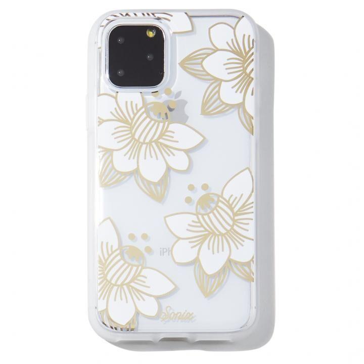 iPhone 11 Pro Max ケース Sonix(ソニックス) クリアデザインケース Desert Lily (White) iPhone 11 Pro Max【11月上旬】_0