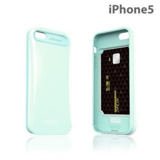 i-Glow パステルケース with TCS  iPhone SE/5s/5 パステルミント