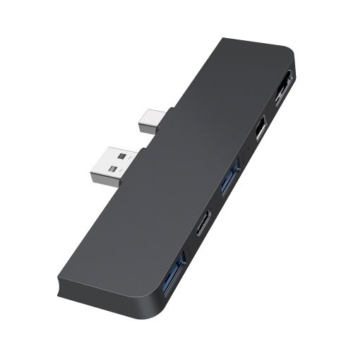 HyperDrive Surface Pro(4/5/6)専用  5in2 Hub ブラック_0