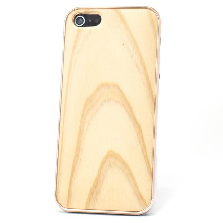iPhone SE/5s/5 ケース REAL WOODEN iPhone SE/5s/5 ケース 「WoodGrain-木目-」 吉野杉/PG_0