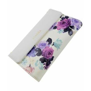 【iPhone8/7ケース】rienda 財布型手帳ケース ローズブライト ホワイト iPhone 8/7_2