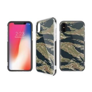 iPhone XS/X ケース CaseStudi PRISMART ミリタリータイガー iPhone XS/X