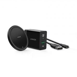 Anker PowerWave+ Pad Qi対応ワイヤレス充電 ブラック