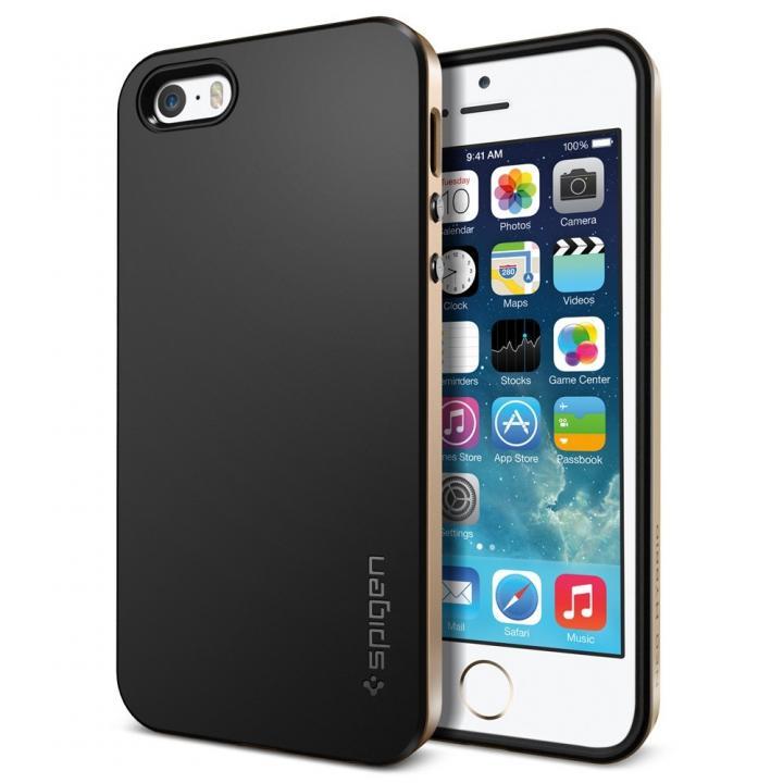iPhone SE/5s/5 ケース iPhone SE/5s/5 ケース ネオ・ハイブリッド[シャンパン・ゴールド]_0