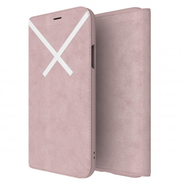 iPhone XS/X ケース adidas Originals XBYO 手帳型ケース Blanch Purple iPhone XS/X_0