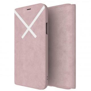 iPhone XS/X ケース adidas Originals XBYO 手帳型ケース Blanch Purple iPhone XS/X
