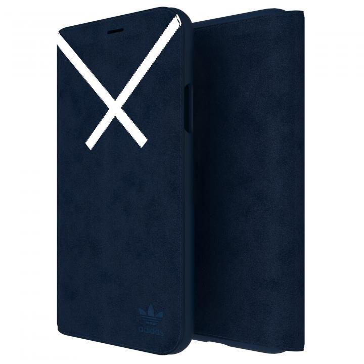 iPhone XS/X ケース adidas Originals XBYO 手帳型ケース ブラック iPhone XS/X_0