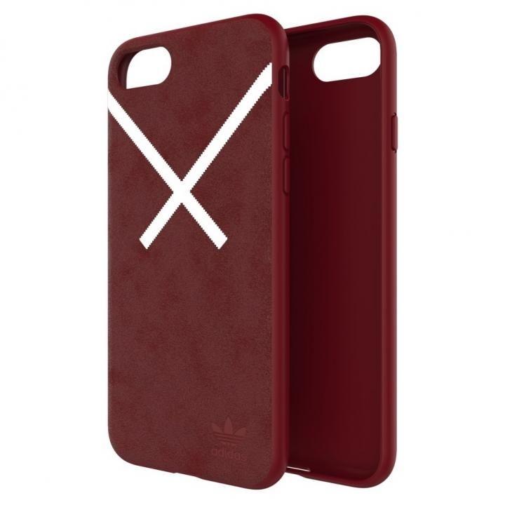 【iPhone8/7/6s/6ケース】adidas Originals XBYO ケース Collegiate バーガンディ iPhone 8/7/6s/6_0