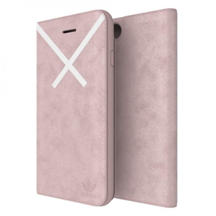 【iPhone8/7/6s/6ケース】adidas Originals XBYO 手帳型ケース Blanch Purple iPhone 8/7/6s/6【3月上旬】_0
