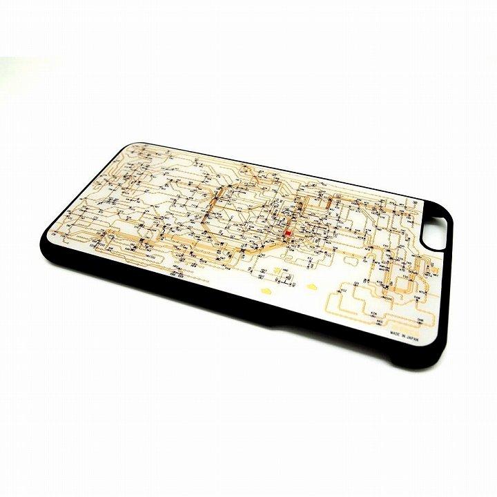 東京回路線図 白 iPhone 6 Plusケース