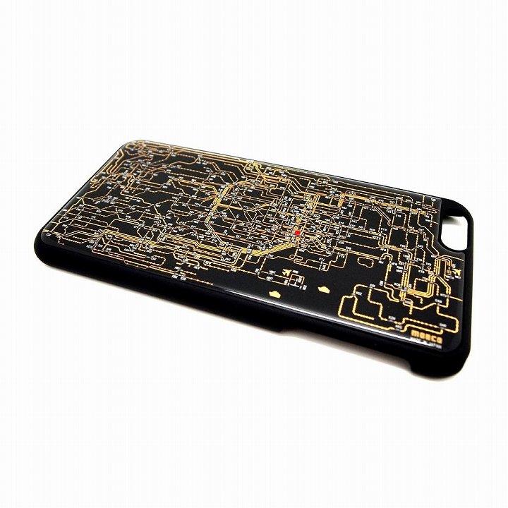 iPhone6 Plus ケース 東京回路線図 黒 iPhone 6 Plusケース_0
