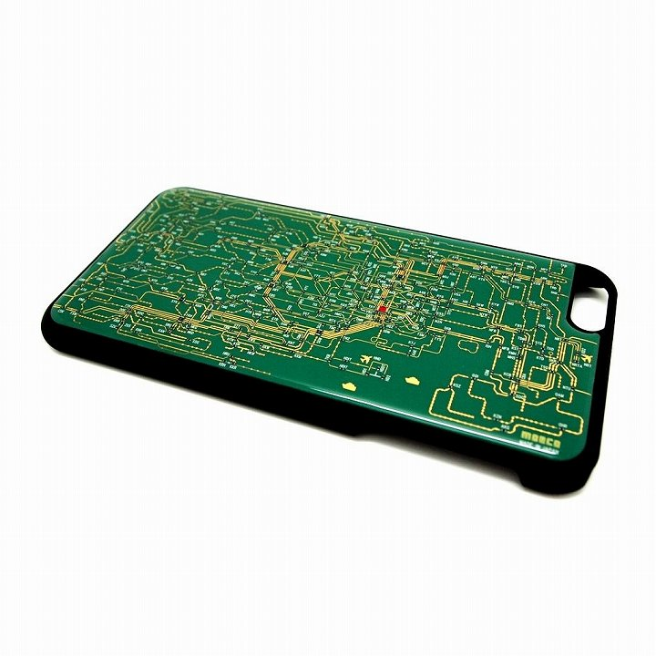 東京回路線図 緑 iPhone 6 Plusケース