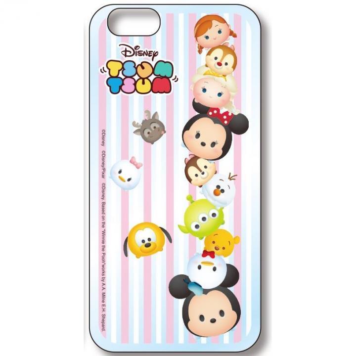 ディズニー ツムツム ハードケース ストライプ iPhone 6