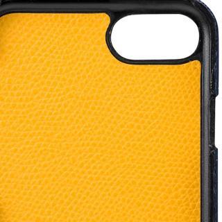 【iPhone8/7ケース】GRAMAS シボ打ち牛皮革 バックカバーケース ネイビー iPhone 8/7_5