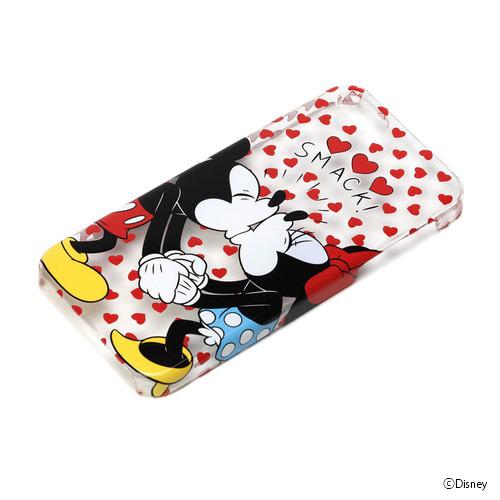 iPhone SE/5s/5 ケース ディズニー iPhone SE/5s/5 ハードケース クリア ミッキー&ミニー_0