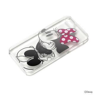 iPhone SE/5s/5 ケース ディズニー ハードケース クリア箔押し ミニーマウス  iPhone SE/5s/5