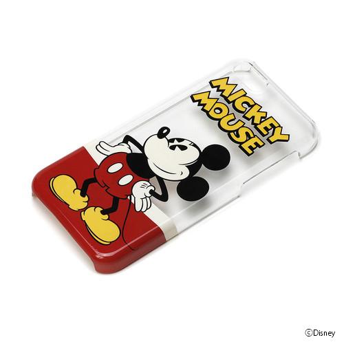 ディズニー iPhone 5c ハードケース クリア ミッキーマウス