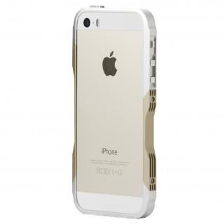 CASTRUM(カストラム) ゴールド&シルバー iPhone SE/5s/5バンパー