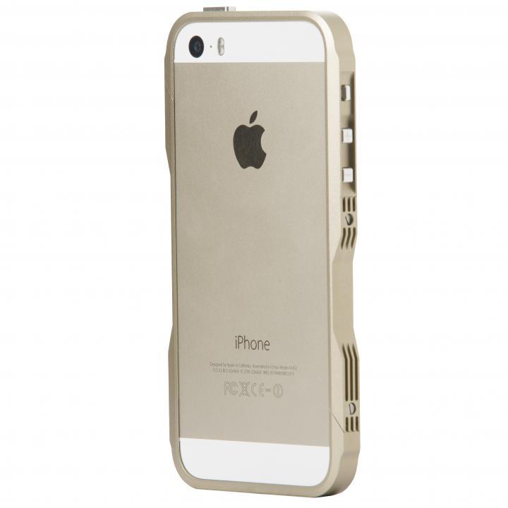 iPhone SE/5s/5 ケース CASTRUM(カストラム) ゴールド iPhone SE/5s/5バンパー_0