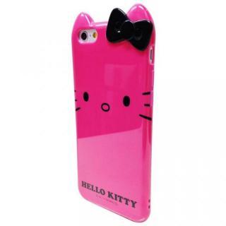 ハローキティ ダイカット ソフトケース ピンク iPhone 6