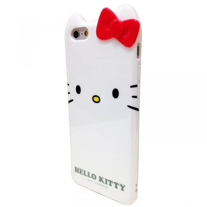 ハローキティ ダイカット ソフトケース ホワイト iPhone 6