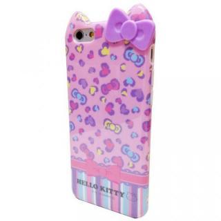 ハローキティ ダイカット ソフトケース ピンクヒョウ iPhone 6