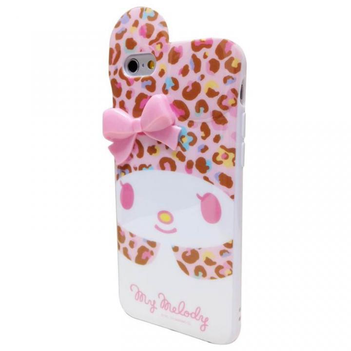 iPhone6 マイメロディ ダイカット ソフトケース ピンクヒョウ iPhone 6_0
