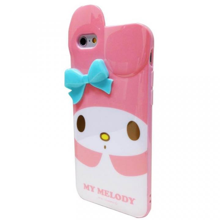 iPhone6s/6 マイメロディ ダイカット ソフトケース ピンク iPhone 6s/6_0