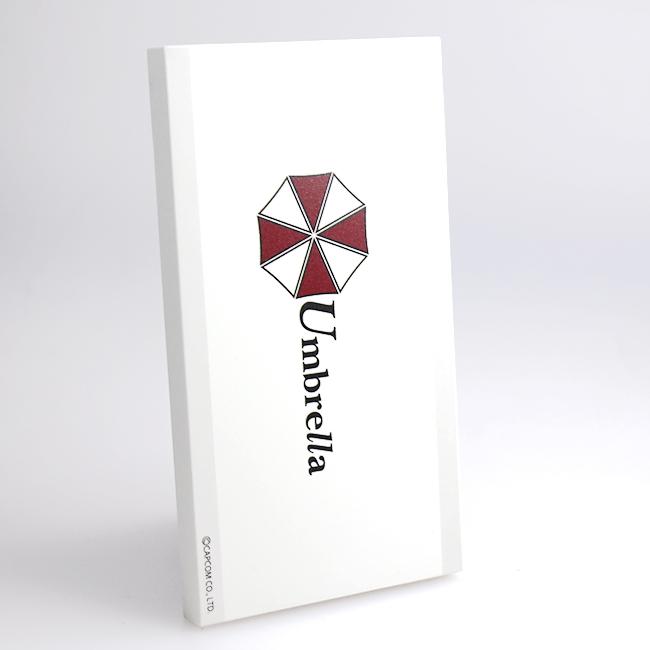 [4000mAh]BIOHAZARD モバイルバッテリー Umbrella_0