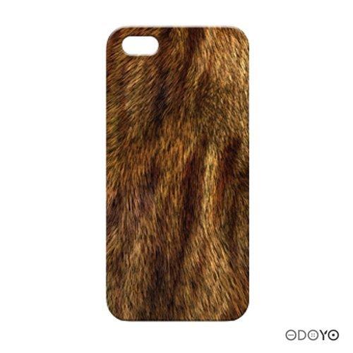 ODOYOワイルドアニマル ライオン iPhone SE/5s/5ケース