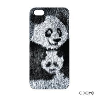 ODOYOワイルドアニマル パンダ iPhone SE/5s/5ケース