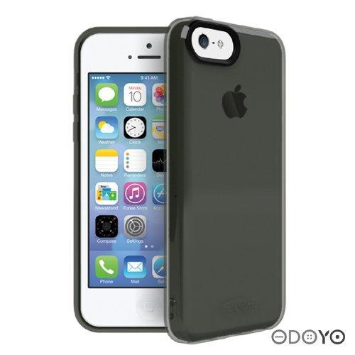 iPhone5c ODOYO ソフトエッジ / グラファイトブラック_0