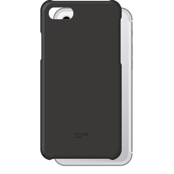 【iPhone8ケース】NanoCase ケースタイプ ブラック iPhone 8_0