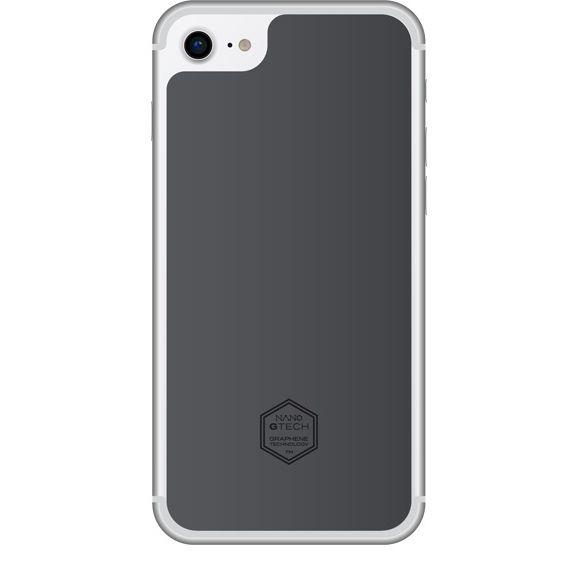 【iPhone8ケース】NANOSTICKER ステッカータイプ iPhone 8_0