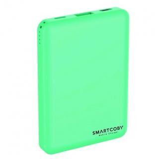 名刺サイズ8000mAhモバイルバッテリー「SMARTCOBY」 ターコイズ