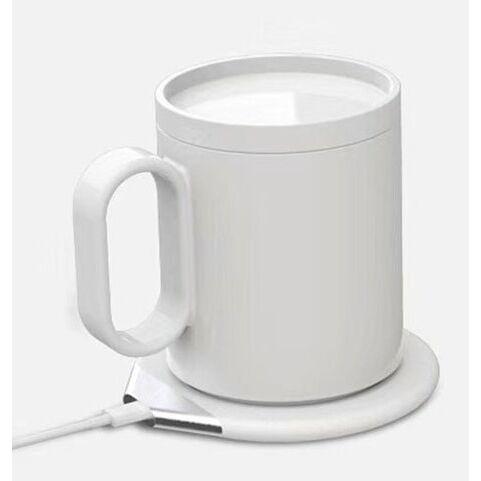 ちょうどよい温かさを持続するマグウォーマー&ワイヤレス充電器にもなる「CIO-MGW-QI10W」 ホワイト【12月中旬】_0