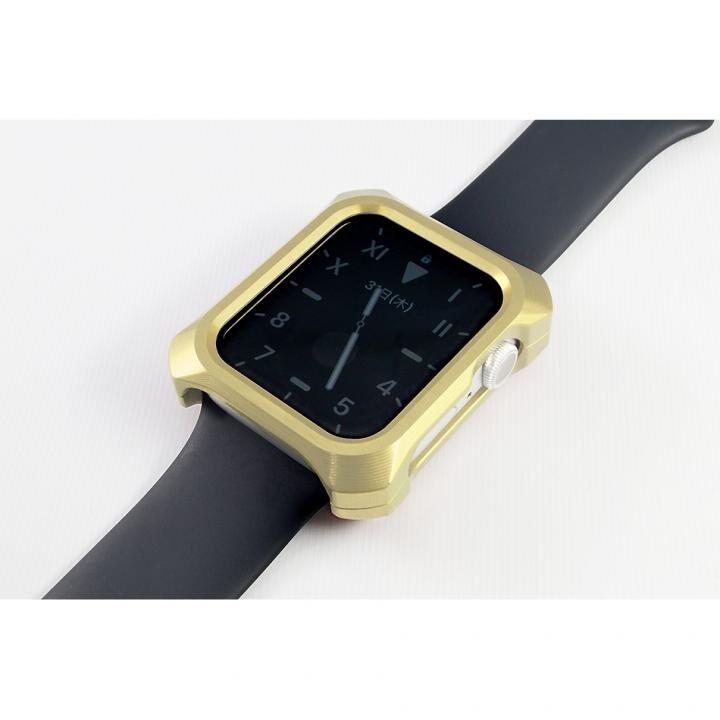 Solid bumper ソリッドバンパー for Apple Watch シャンパンゴールド(44mm、Series4.5用)_0