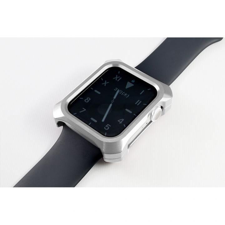 Solid bumper ソリッドバンパー for Apple Watch シルバー(44mm、Series4.5用)_0