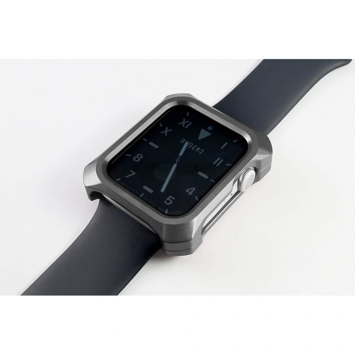 Solid bumper ソリッドバンパー for Apple Watch グレー(44mm、Series4.5用)_0