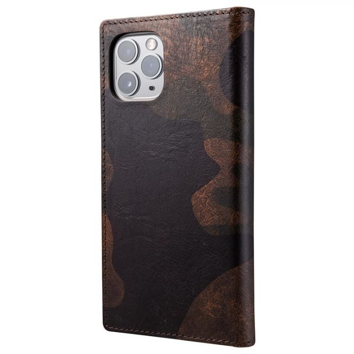 iPhone 11 Pro/XS ケース Desert Storm Genuine Leather Book Case for iPhone 11 Pro/XS/X_0