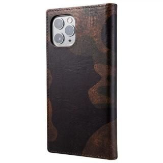 iPhone 11 Pro/XS ケース Desert Storm Genuine Leather Book Case for iPhone 11 Pro/XS/X