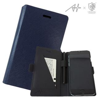 [A+×CRYSTAL ARMOR]Su-Penホルダー付き手帳型ケース Special Edition ネイビー iPhone 6s/6