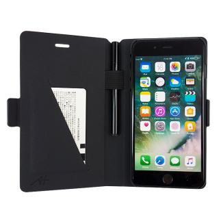 【iPhone7 Plusケース】[A+×CRYSTAL ARMOR]Su-Penホルダー付き手帳型ケース Special Edition ネイビー iPhone 7 Plus_3