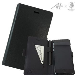 [A+×CRYSTAL ARMOR]Su-Penホルダー付き手帳型ケース Special Edition ブラック iPhone 6s/6