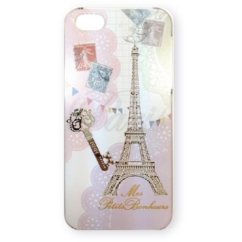 【iPhone SE/5s/5ケース】パリコラージュ iPhone SE/5s/5 eiffel_0
