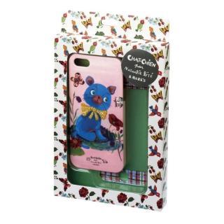 iPhone SE/5s/5 液晶保護付き /シャシャンパーナタリーレテ/ネコ・ブルー