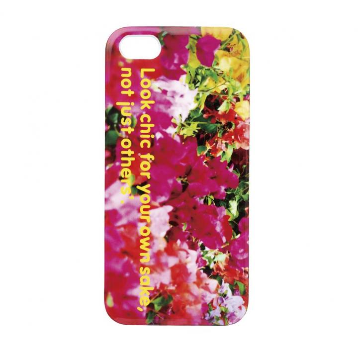 iPhone SE/5s/5 ケース iPhone SE/5s/5 ニナデジ/フラワー・ピンク_0